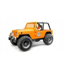 Bruder - Jeep Cross country racer med fører (BR2542)