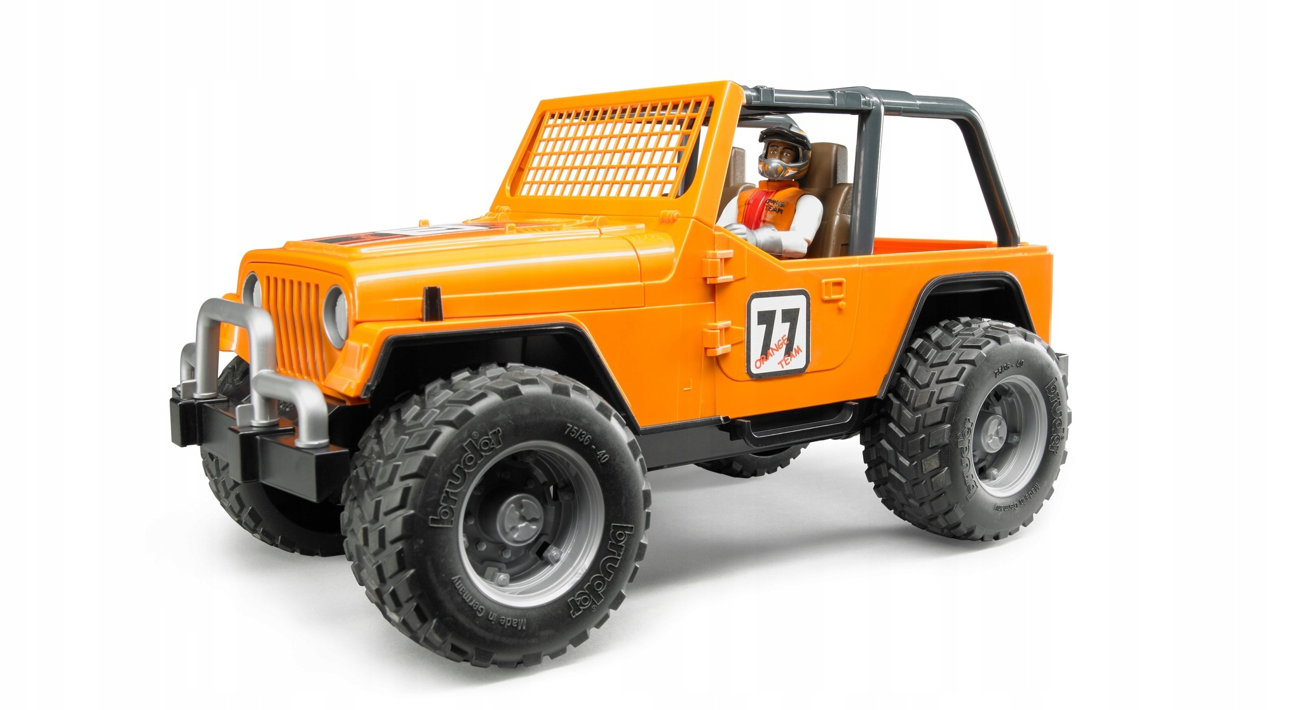 Bruder - Jeep Cross country racer orange with driver (BR2542)