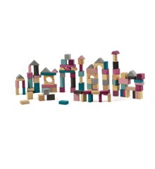 Magni - Wooden Building blocks, 100 pcs (2956)