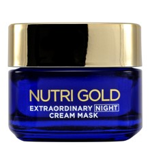 L'Oréal -  Nutri Gold Extraordinary Oil - Night Cream Mask 50 ml