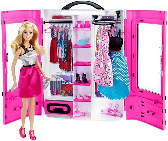 Barbie – Ultimate Closet incl. doll and accessories (DMT58)