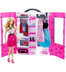 Barbie - Det Ultimative Klædeskab inkl. dukke og tilbehør