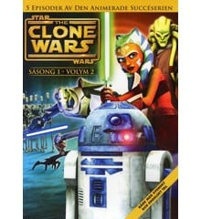 Star Wars - The Clone Wars - Saeson 1 vol 2 - DVD