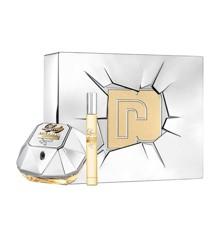 Paco Rabanne - Lady Million Lucky EDP 80 ml + Travel Spray EDP 10 ml - Giftset
