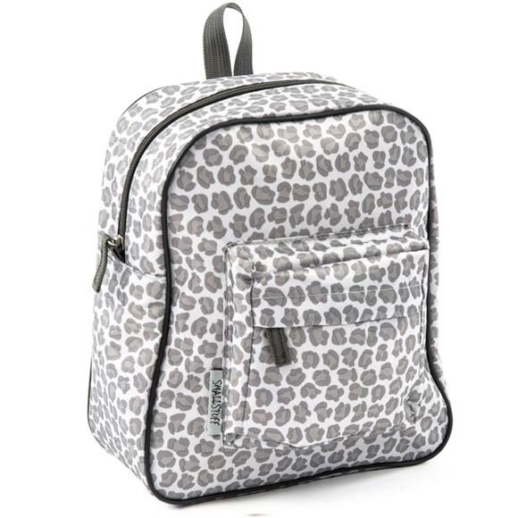 Smallstuff - Small Backpack - Leopard,Grey (83001-20)