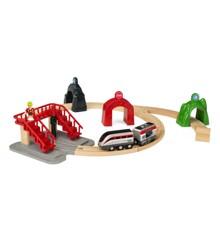 BRIO - Tågset med action-tunnlar (33873)