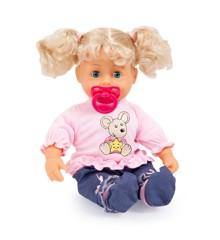 Bayer - Dukke - Interaktiv Baby 38 cm - Blond
