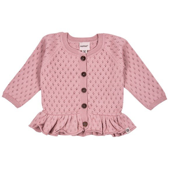 ​PAPFAR - Needledrop Girls Knit Cardigan