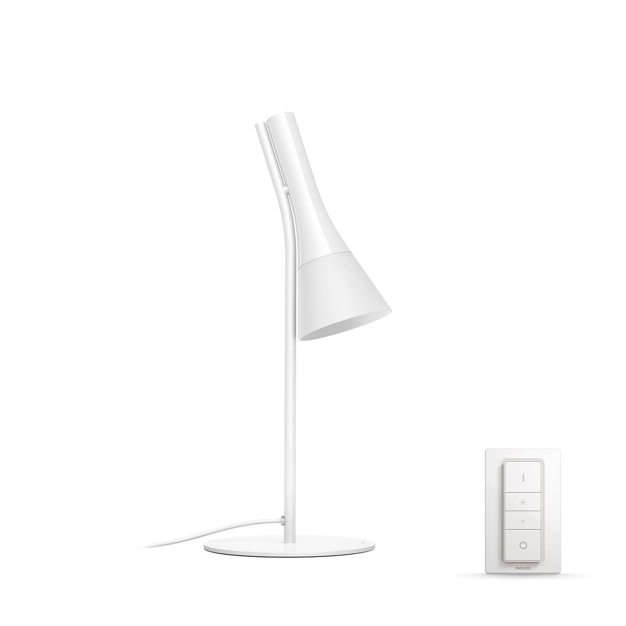 Philips Hue - Explore  Table Lamp White (Dimmer Switch Included) - White Ambiance - E
