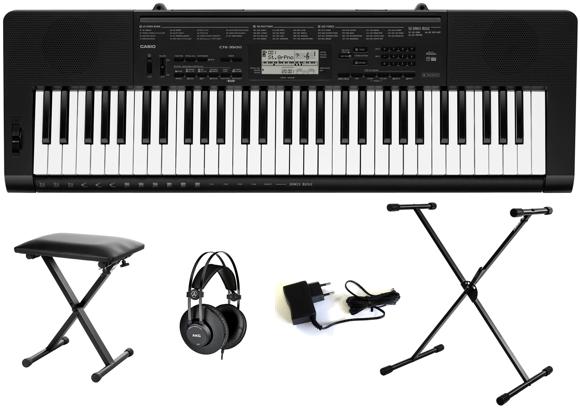 Casio - CTK-3500 - Portable Keyboard Bundle