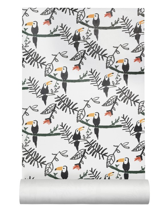 Nofred - Wallpaper - Toucan Print