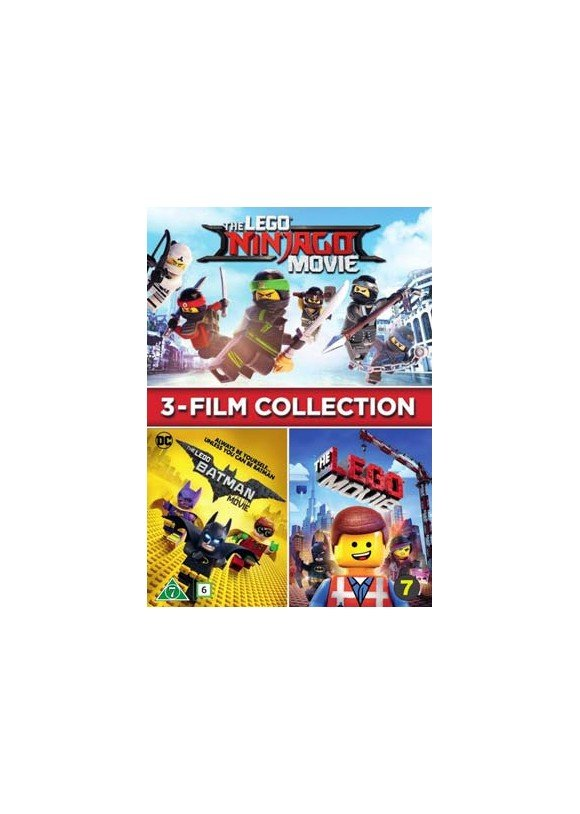LEGO THE MOVIES (3 FILMS)