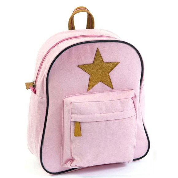 Smallstuff - Large Backpack w. Leather Star