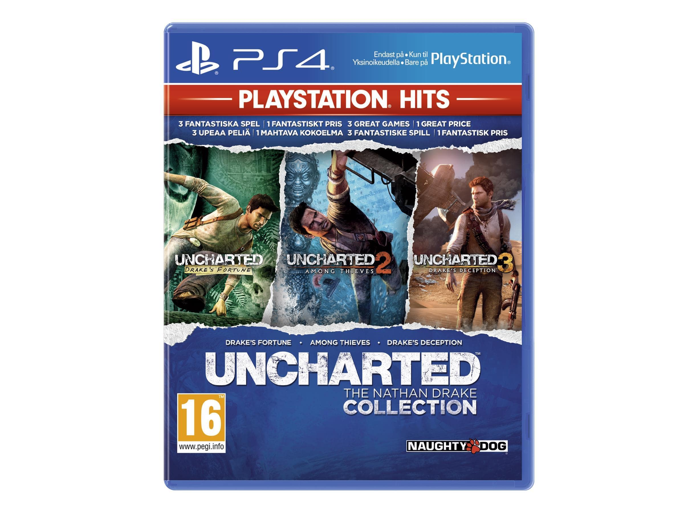 Uncharted: The Nathan Drake Collection (Playstation Hits)