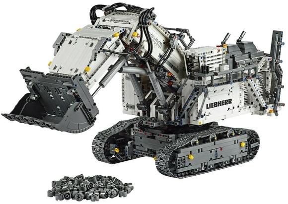 LEGO Technic - Liebherr R 9800 Gravemaskine (42100)