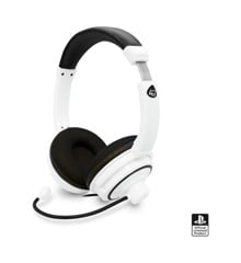 4Gamers PRO4-40 Stereo Gaming Headset White