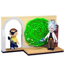 Rick  and  Morty - Small Construction - Evil Rick & Morty