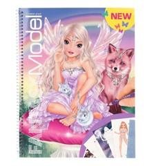 Top Model - Fantasy Designbog m/klistermærker