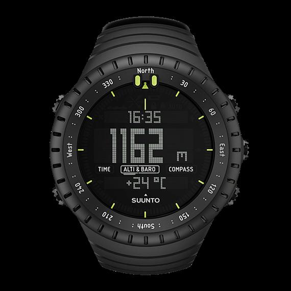 Suunto - Core All Black Outdoor Watch