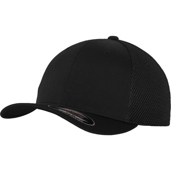 Flexfit Ultrafibre Mesh Stretchable Cap - black - S/M