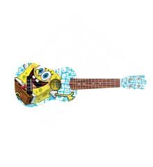 "Sponge Bob Squarepants - Bikini Bottom Blue - ""Svampe Bob"" Sopran Ukulele"
