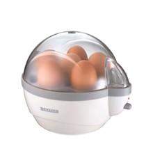Severin - Æggekoger 1-6 æg 400 watt - Hvid/Grå (495240)