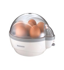 Severin - Egg Boiler 1-6 Egg 400 Watt - White /Gray (495240)
