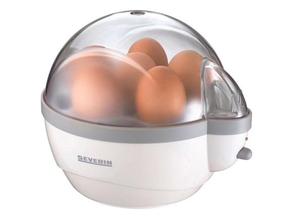 Severin - Egg Boiler 1-6 Egg 400 Watt - White /Gray (495240)