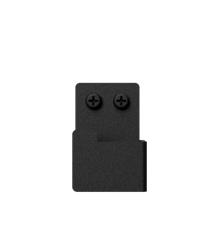 Nichba-Design - Bath Hooks 2 pcs - Black (L100103)