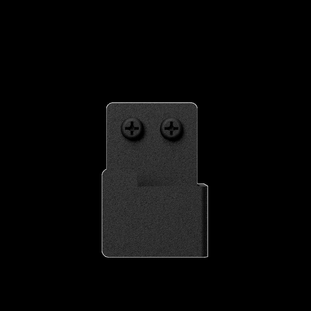 Nichba-Design - Handtuchhaken 2er Pack - Schwarz