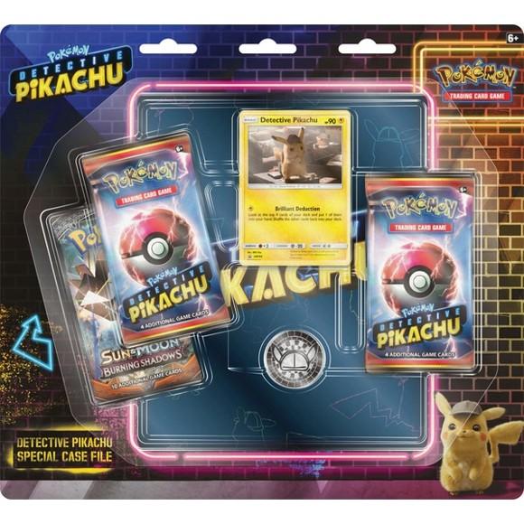 Pokémon - Poke Box Special Case File - Detective Pikachu GX incl. Binder (POK80627)