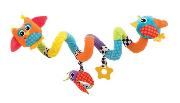 Playgro - Twirly Whirly spiral til vognen eller sengen