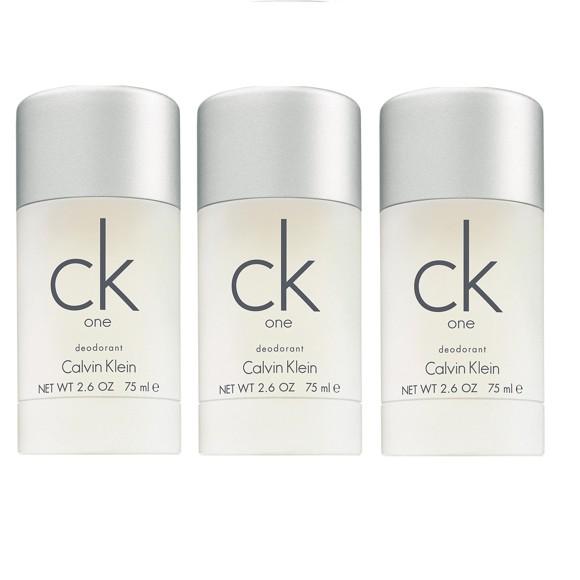 Calvin Klein - 3x CK One Deodorant Stick