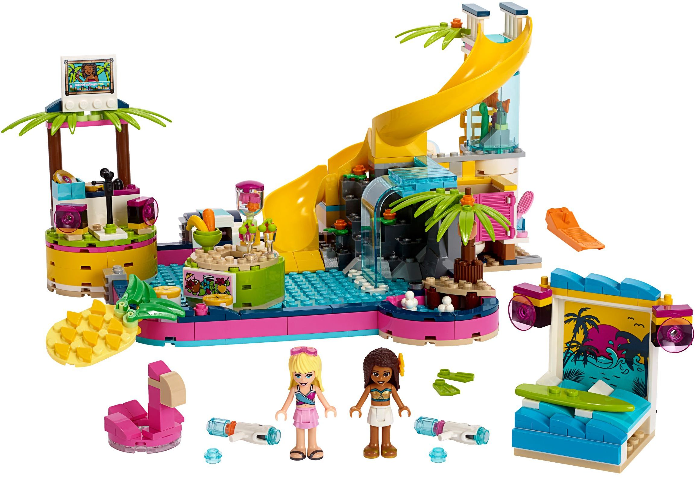 Buy LEGO Friends - Andrea's Pool Party (41374) - Incl ...
