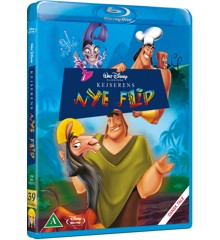 Disneys Kejserens nye flip (Blu-Ray)