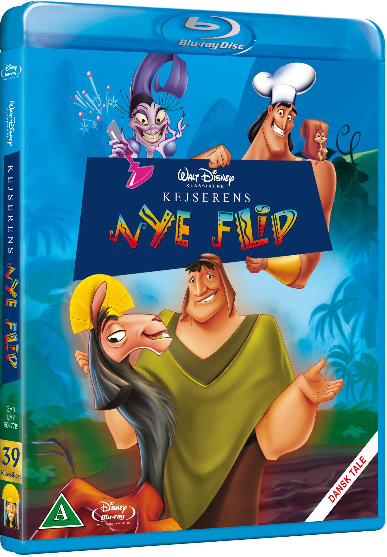 Kejserens nye flip Disney classic #39