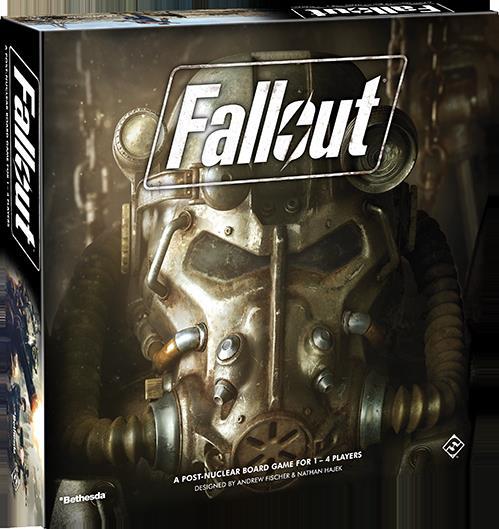 Fallout Brætspil (Engelsk)