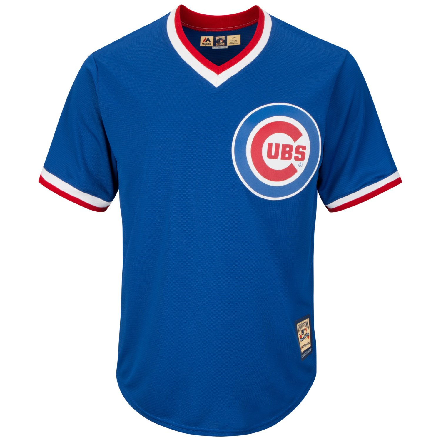 Chicago Cubs Majestic Cooperstown Cool Base Jersey