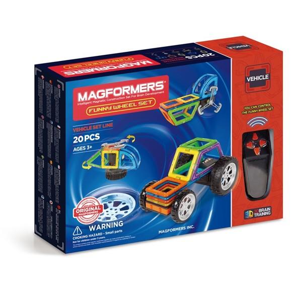 Magformers - Funny Wheel sæt