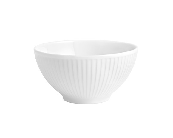 Pillivuyt - Plissé Bowl 14 cm - White (174214)
