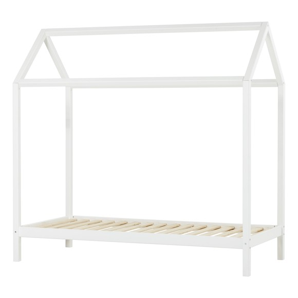 Hoppekids - Basic House Bed - White