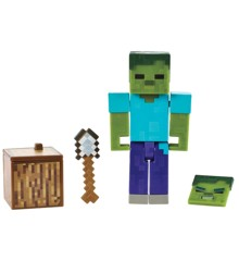 Minecraft - Comic Mode 8 cm Figur - Zombie