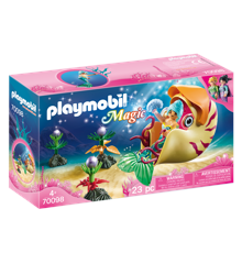 Playmobil - Magic - Havfrue med havsneglsgondol  (70098)