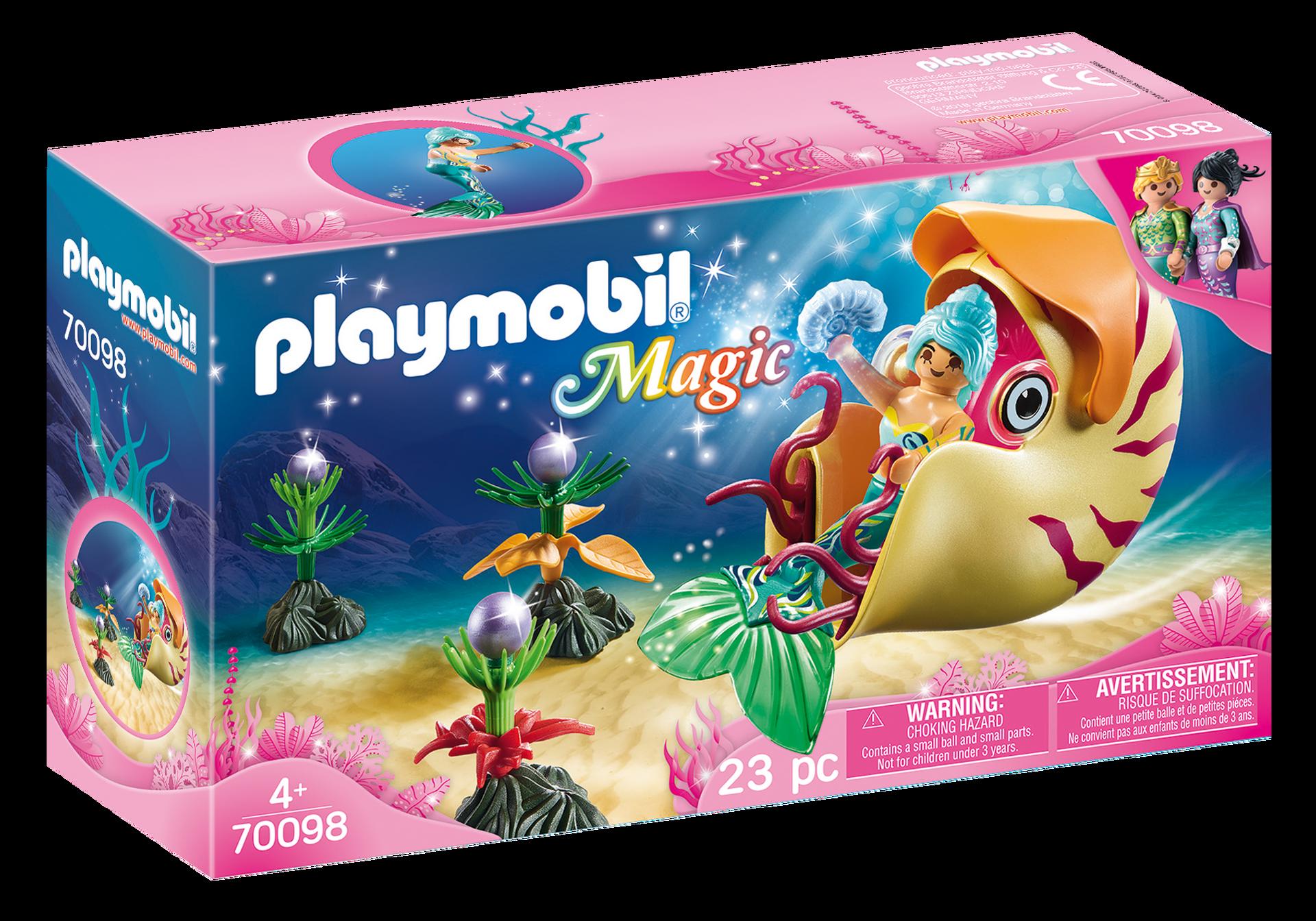 Playmobil - Magic - Nautilus Gondola (70098)