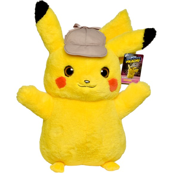 Pokémon - Detektiv Pikachu Plys bamse 40 cm