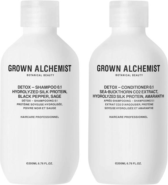 Grown Alchemist - Detox Haircare Twinset 2x200 ml