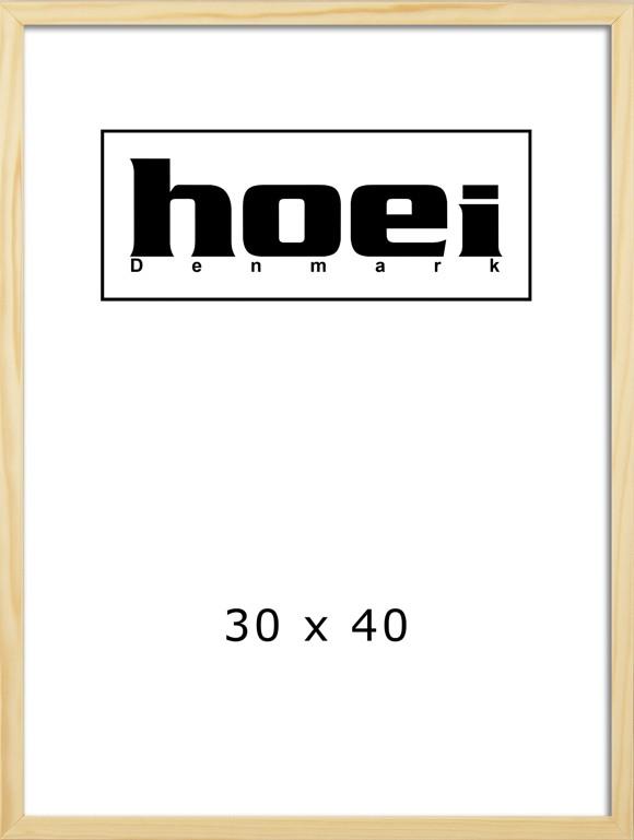 Hoei Denmark - Hoei 112 Frame 30 x 40 cm - Pine Wood (801120030040)