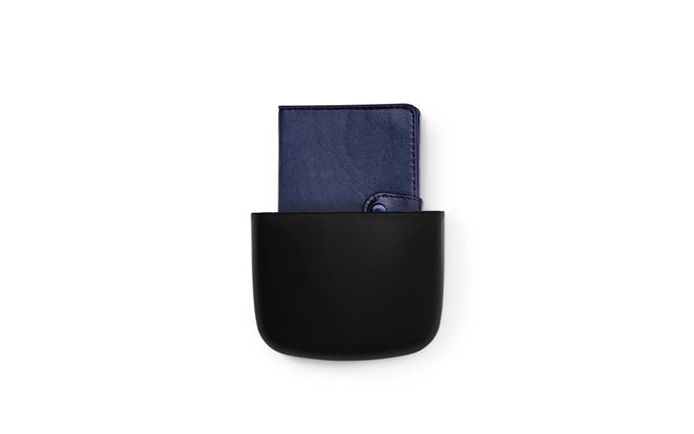 Normann Copenhagen - Pocket Organizer 2 - Schwarz