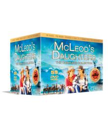 McLeod's Døtre Komplet samling (59 disc) - DVD boks