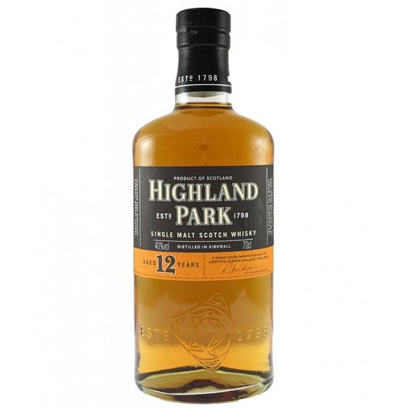 Highland Park - 12 Year Old Single Malt Whisky, 70 cl